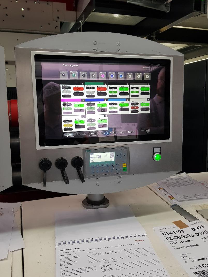 IIS-Viskosimeter sind so gebaut, dass sie in einer InkSpec-Multikanalumgebung mit Touchscreen-Konsole eingesetzt werden können.