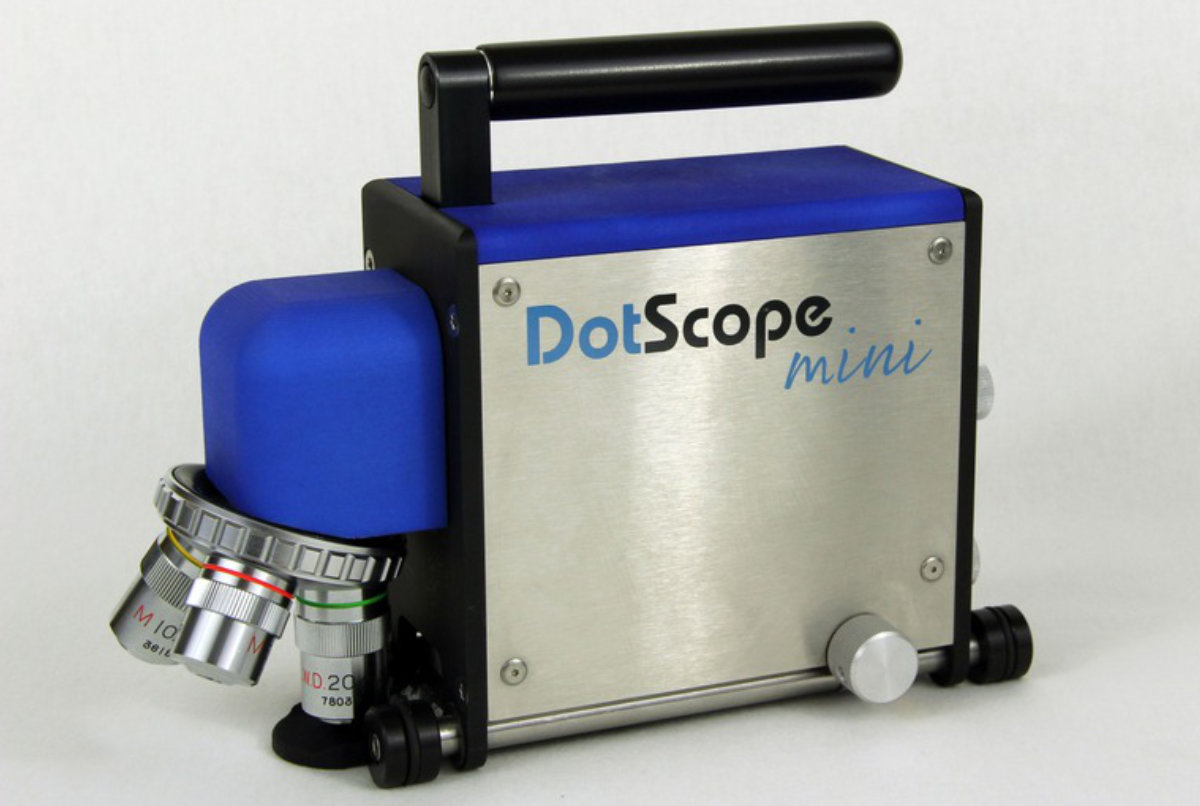 DotScope Mini 3D Messung