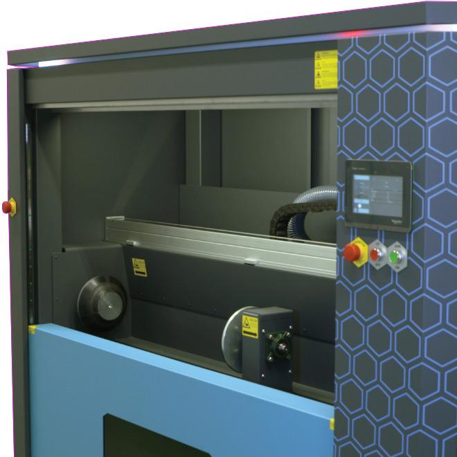 AL 1500 / AL 2000 Rasterwalzen Laser-Reinigungssystem