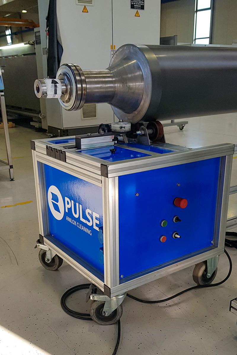 Mobiler Transport Laserreinigung
